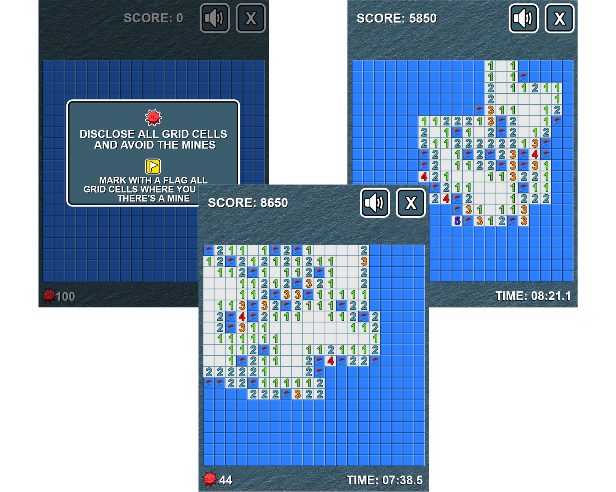 Battleship Minesweeper - HTML5 Game Download