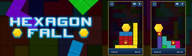 """Hexagon Fall""""  width="""