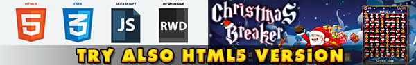 Christmas Breaker - HTML5 Construct Match 3 Game Download