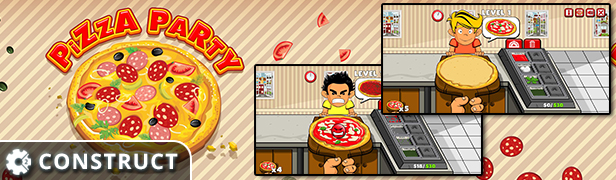 Breakfast Time - HTML5 Construct 2 Cooking Game Download