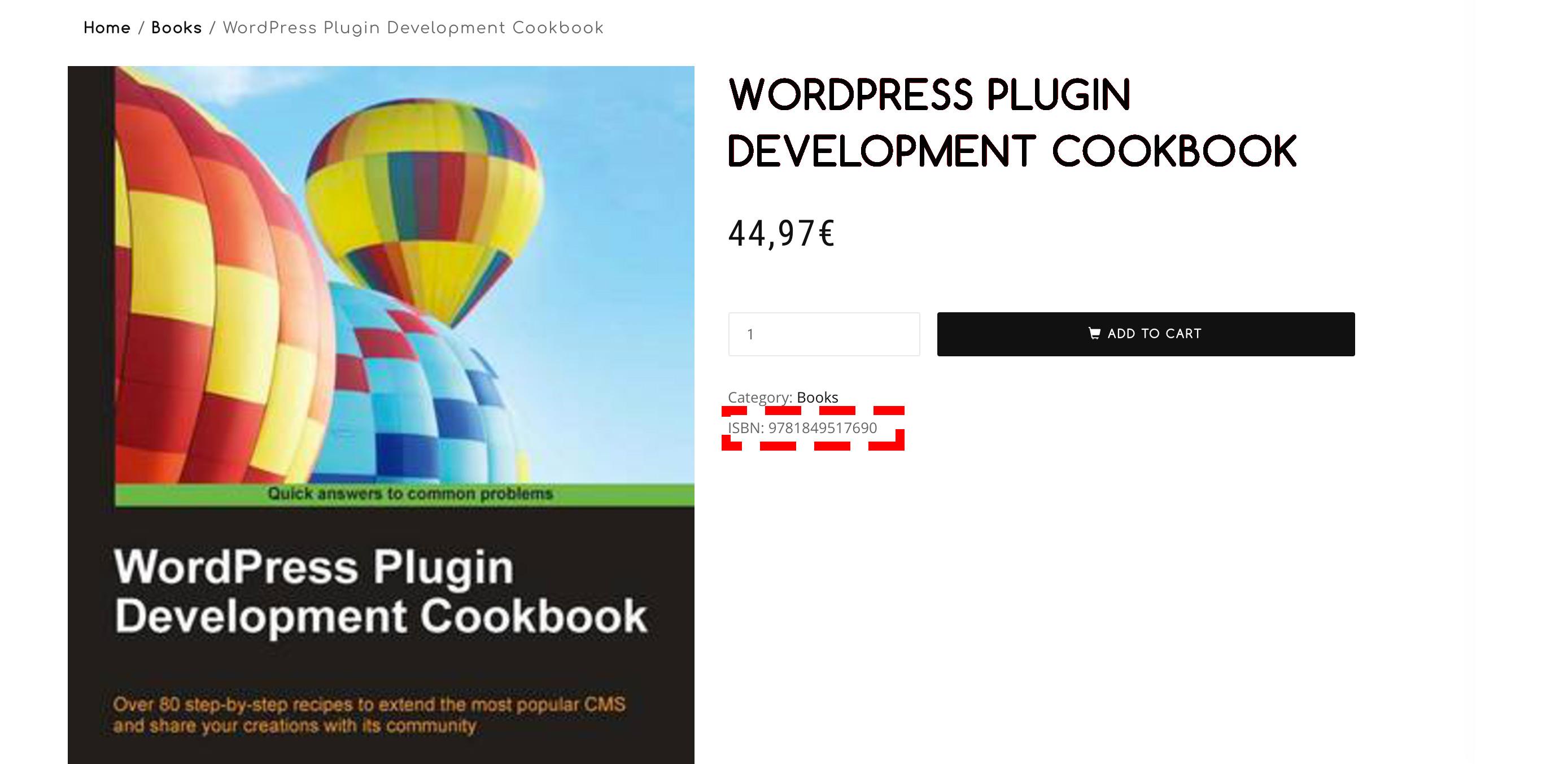 CTL Woocommerce ISBN 4